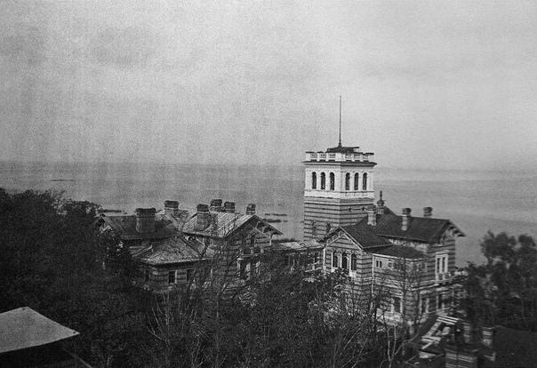 В.Кёрте. Нижняя дача в парке Александрия. 1942г. Личный архив А.Кёрте