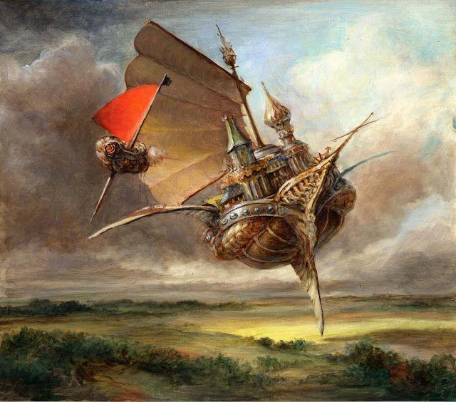 магония воздушные корабли