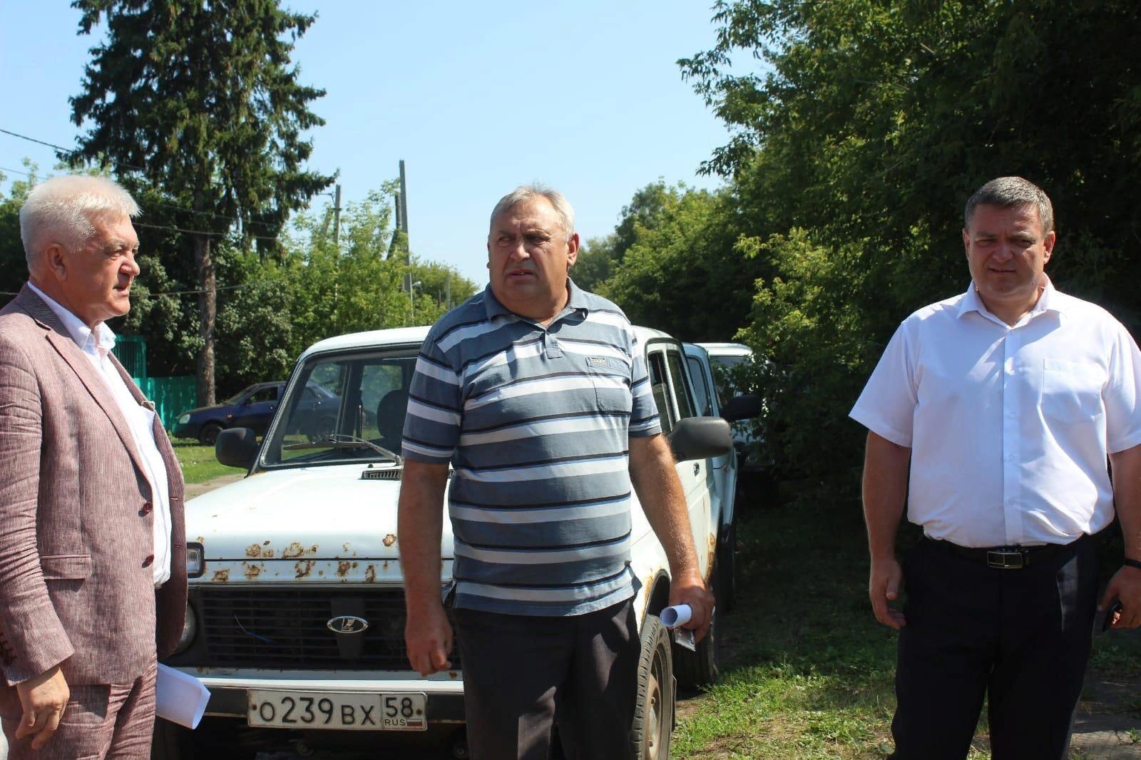 Выездное совещание в Кировском сельсовете
