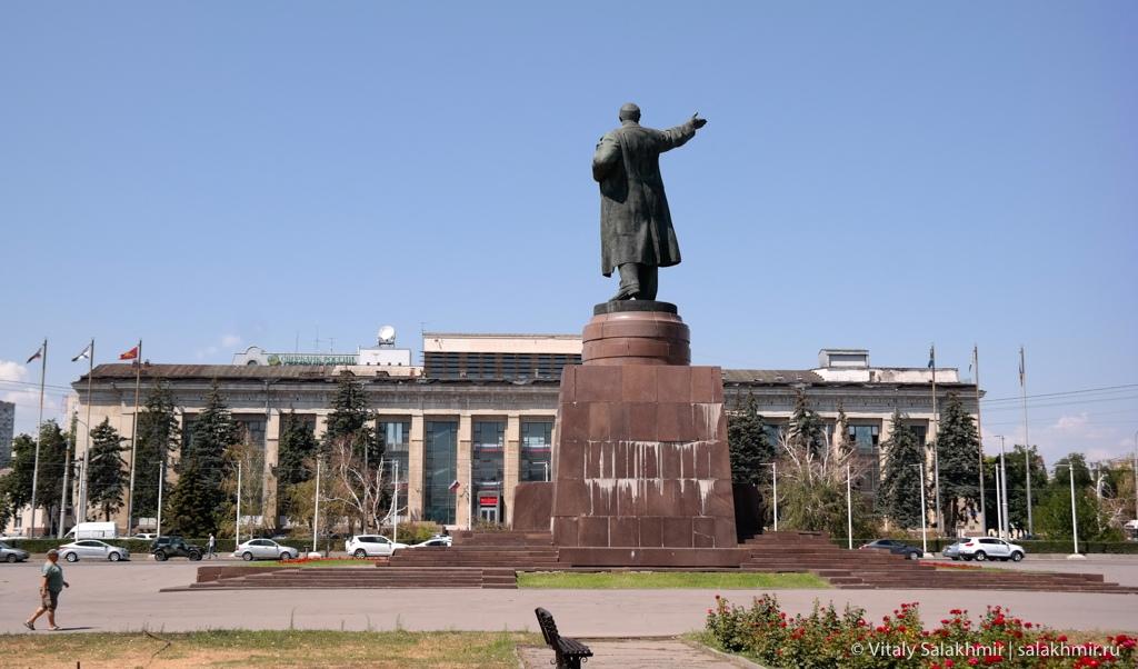 Площадь Ленина в Волгограде 2020