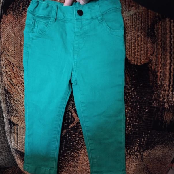 Детские джинсы отличного качества как новые одевал...
