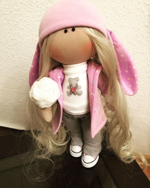 как сщить трикотажную шапку для куклы своими руками, как сшить шапочку из трикотажа для куклы мастер-класс пошагово,