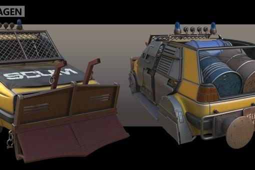 SCUM: улучшение транспорта А вот и...
