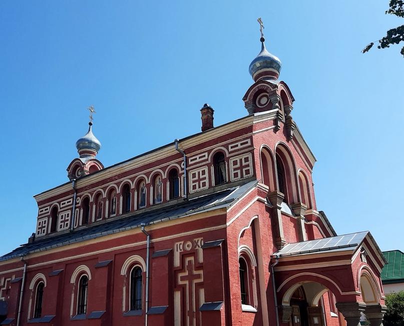 Никольский мужской монастырь. Храм святого Иоанна Златоуста