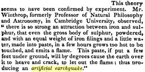 18-19 века: искусственные землетрясения, вулканы и цунами, изображение №13