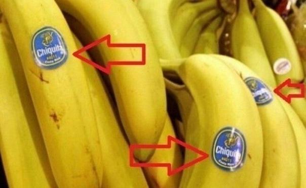 Будьте осторожны, когда покупаете бананы! Знаете ли вы, что означают ЭТИ наклейки