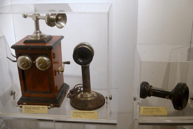 Телефоны фирмы Белла (Bell Telephone Company) и Сименс (Siemens)