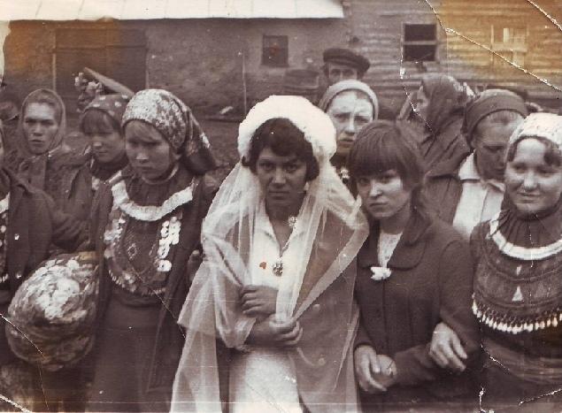 Чувашская свадьба, Мелеуз, 1960-е годы
