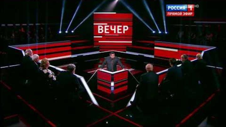 Яков Кедми О Сталине блестящее выступление Вечер с Владимиром Соловьевым 22 12 16