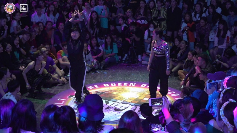 YOONJI vs DA HANG|Waacking Best 16 @ THE QUEEN OF DISCO vol 7|LB PIX