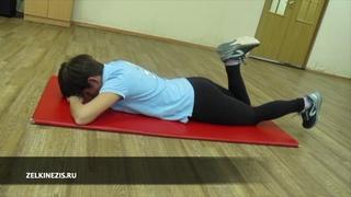 Гимнастика при болях в коленных суставах