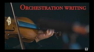 🎬Фрагменты процесса написания оркестровки с использованием живых инструментов из нашей коллекции 🎻