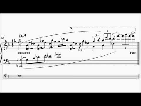 Bill Evans 1969 Emily Mandel Mercer transcription