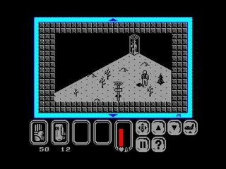 I fail at playing UFO: Enemy Unknown (ZX Spectrum real-time port, that is)