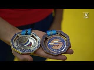 Елена Шелобанова выиграла две медали на всероссийских соревнованиях