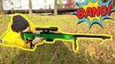Макс распаковывает игрушки из контр страйк - детское оружие для мальчиков