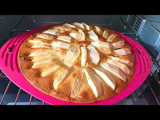 Яблочный Пирог на Кефире. 🍎 😋🍏 Пирог на Кефире с Яблоками !!!