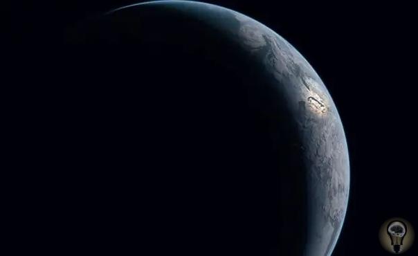 На самом деле космос выглядит так