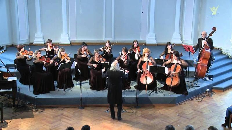 Антонио Сольери, Веницианская симфония 1 часть. Тульский камерный оркестр