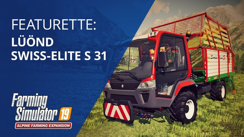 Welcome Lüönd Swiss Elite S 31 Alpine Farming Expansion