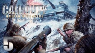 Call of Duty: United Offensive - Прохождение игры на русском - Бомбардировщик [#5]