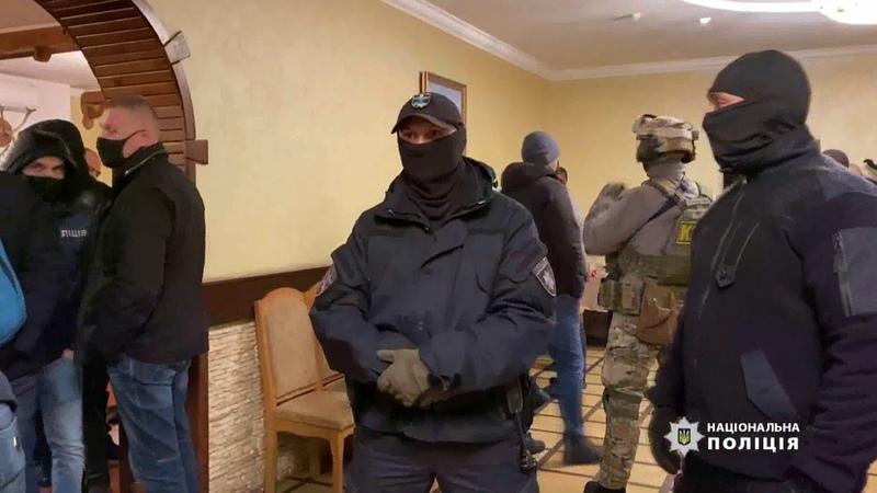 Облава на сходку криминальных авторитетов