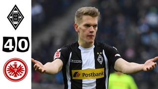 Боруссия Менхенгладбах - Айнтрахт Франкфурт 4-0 Основные моменты | Бундеслига - 2020/21 Все голы