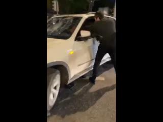 Азербайджанцы избили армян на BMW 2020 карабах