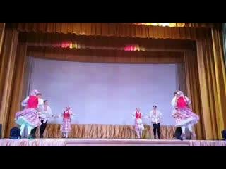 Концерт-выборы -основной состав ОКХА «Созвездие»-белорусский танец «Лявониха».