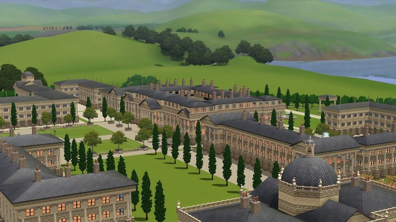 The Sims 3 The Palace Timelapse