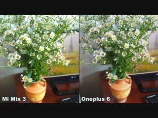 Xiaomi mi mix 3 vs oneplus 6 camera test comparison