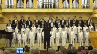 """Концертный хор Хоровой школы мальчиков и юношей  """"Дубна"""",  часть 1"""