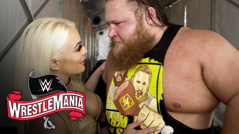 Otis basks in glow of Mandy Rose and first WrestleMania win WWE Exclusive April 5 2020