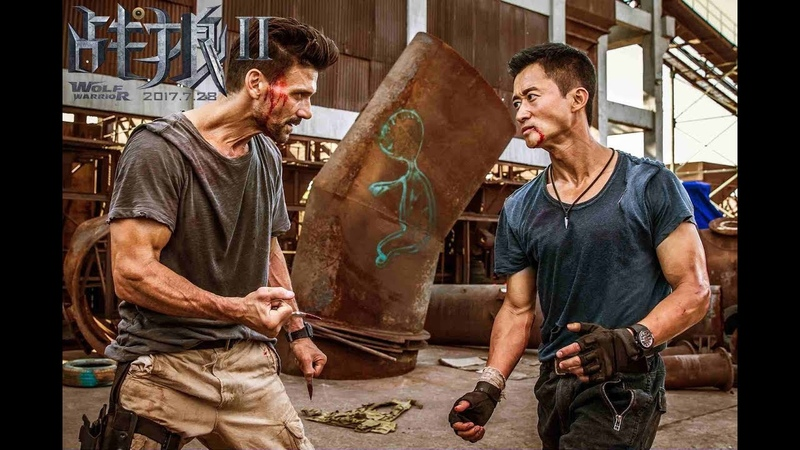 Wolf Warrior 2 Leng vs Big Daddy Finale Previs Wu Jing Frank Grillo