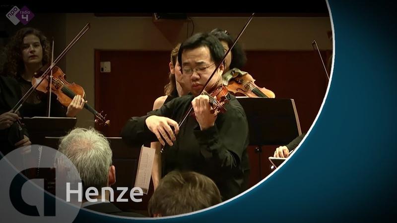Henze Il Vitalino raddoppiato - Ning Feng and Amsterdam Sinfonietta - Live Concert HD