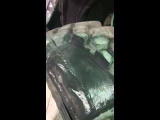 Michelin Bibload Hard Surface в разрезе