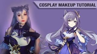 ✧Keqing - Genshin Impact - Cosplay Make Up Tutorial Makeover Transformation✧