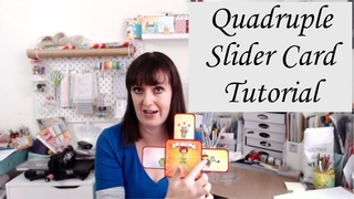 Quadruple Slider Card Tutorial feat. Neat and Tangled
