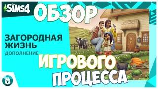 ФЕРМА В СИМС 4! ИГРОВОЙ ПРОЦЕСС - РАЗБОР ТРЕЙЛЕРА - ЗАГОРОДНАЯ ЖИЗНЬ - The Sims 4 Cottage Living