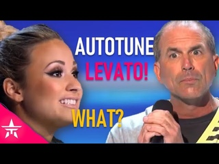 You Sing With Autotune, Demi Lovato! Contestant Owns Demi On X FACTOR! Crazy Moment 🤣