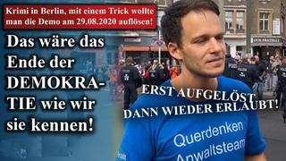 Krimi in Berlin, mit einem Trick wollte man die Demo am  2002 auflösen!