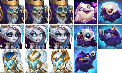 Darkness Falls avatars