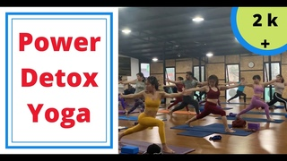 Power Detox Yoga Full Class   Yoga With Mohit Yogi   Vietnam  