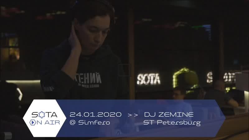DJ Zemine ST Petersburg 24 01 2020 @ Simfero SOTA ON AIR