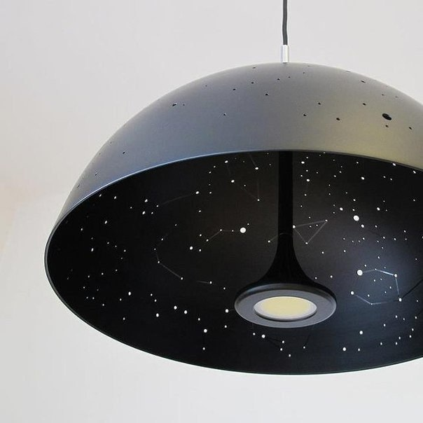 космический светильник фото