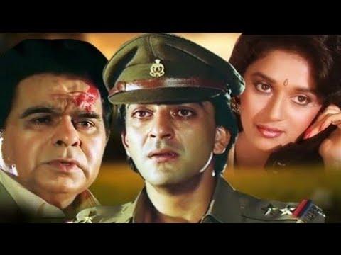 Месть именем закона Индийский фильм 1989 год В ролях Дилип Кумар Санджай Датт Мадхури Дикшит