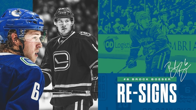 Vancouver Canucks Sign Brock Boeser to Three-Year Contract Extension