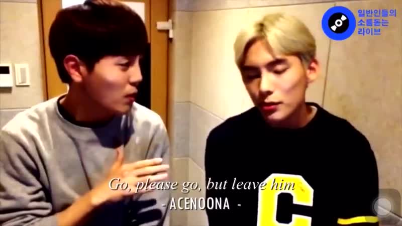 In case anyone ever tells you that a.c.e cant sing i've got a video ready for u to slap in their face