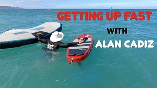 Getting up fast with Alan Cadiz