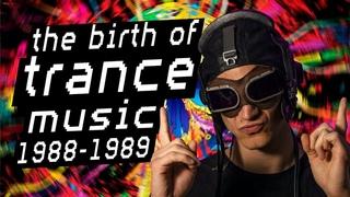 Рождение транс музыки 1988-1989 | История рейв культуры | История электронной музыки Ra Djan Radjan